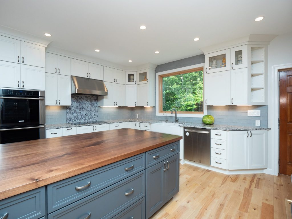 Saddle Kitchen Design, Anne Arundel County, Johnson Lumber